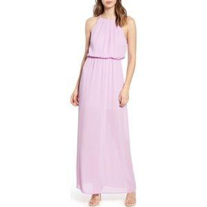 ALL IN FAVOR Blouson Maxi Dress Wedding Lavender